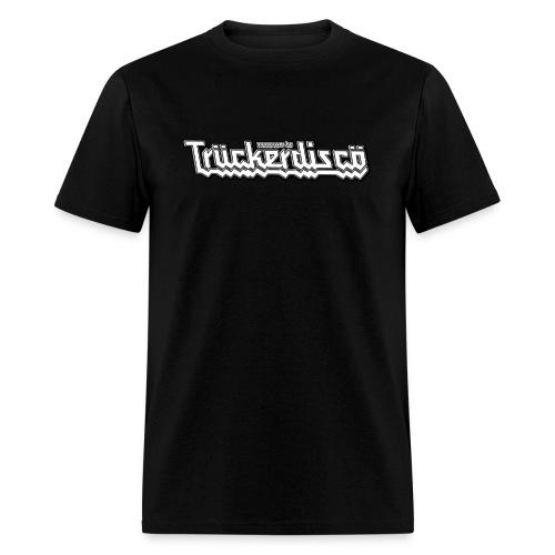 TRUCKERDISCO 1-sided T-Shirt, men's black - Men's T-Shirt
