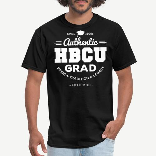 Authentic HBCU Grad - Men's T-Shirt