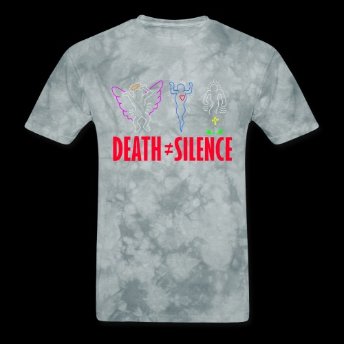 death not equal silence - Men's T-Shirt