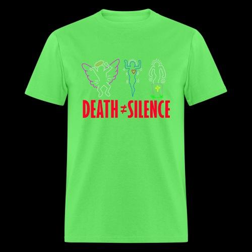 death not equal silence - Men's T-Shirt