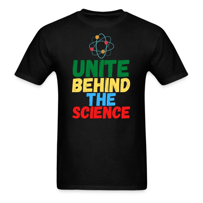 Unite Behind The Science - Atom Symbol