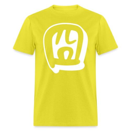 gwing white - Men's T-Shirt