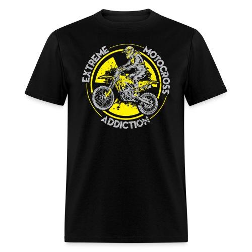 Extreme MotoX Addiction - Men's T-Shirt