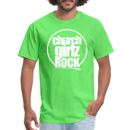 cgr_logo2_white - Men's T-Shirt