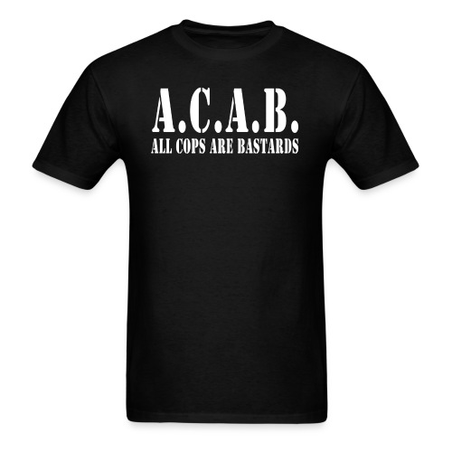 acab army - Men's T-Shirt