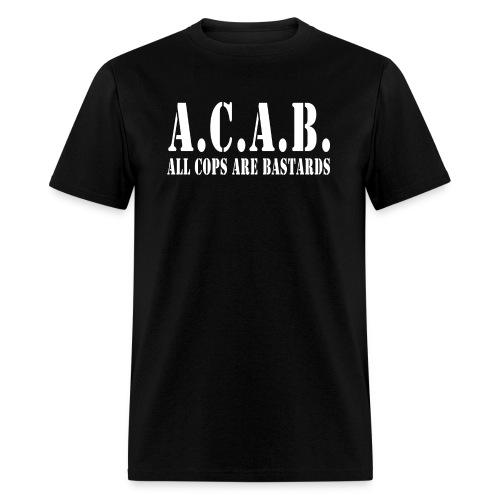 acab army - Men's T-Shirt