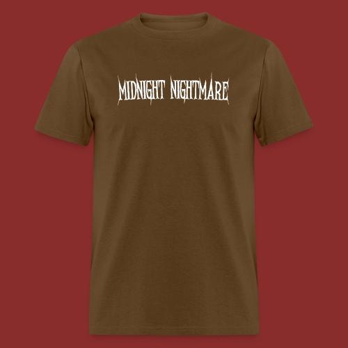 Midnight Nightmare Logo-w - Men's T-Shirt
