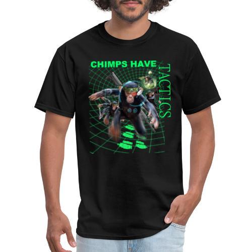 tactical chimp tshirt - Men's T-Shirt