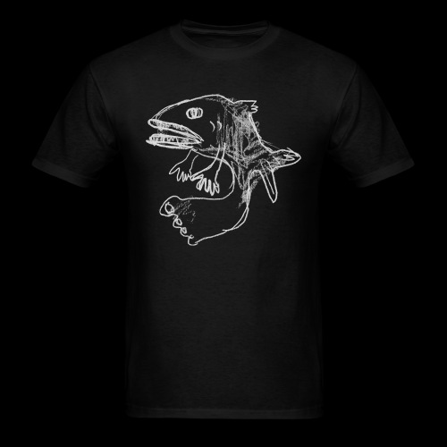 extremely normal fish - Men's T-Shirt