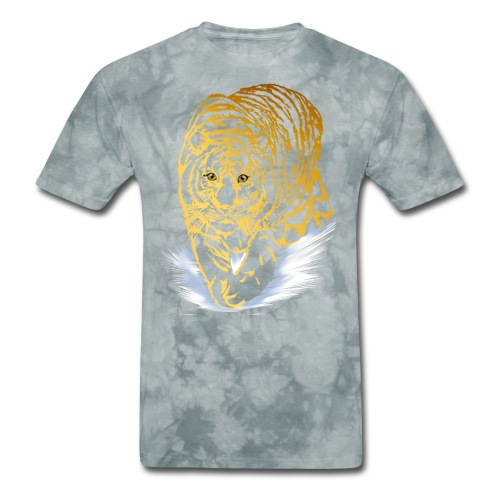 Golden Snow Tiger - Men's T-Shirt