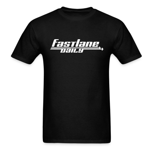 Fast Lane Daily logo - Men's T-Shirt