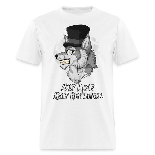 Half-Wolf Half-Gentleman - Men's T-Shirt