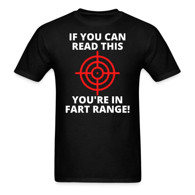 If You Can Read This You're In Fart Range - Red Ta