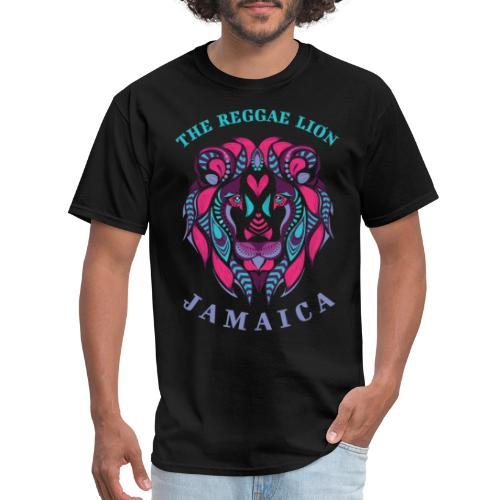 reggae lion jamaica - Men's T-Shirt
