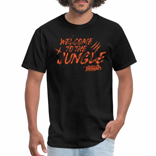 Welcome to the Member Jungle Orange - Men's T-Shirt