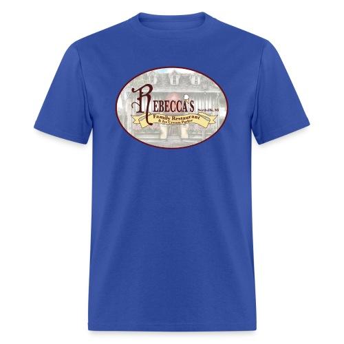 reb logo 2 - Men's T-Shirt