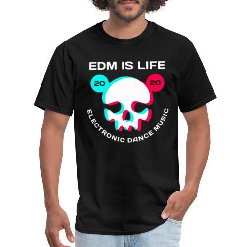 edm electronic dance music - Men's T-Shirt