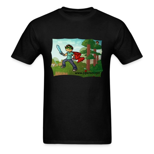 Jigarbov Adventure - Men's T-Shirt