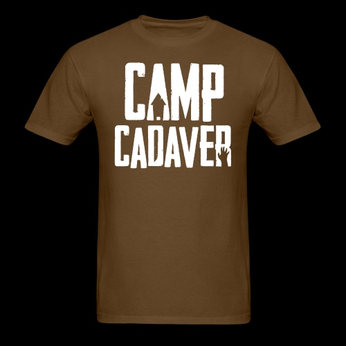 Camp Cadaver White Logo - Men's T-Shirt