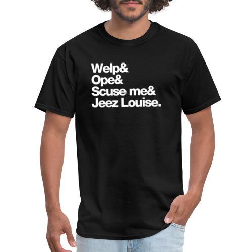 Midwest Series: Welp - Men's T-Shirt
