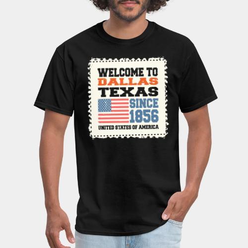 dallas texas usa - Men's T-Shirt