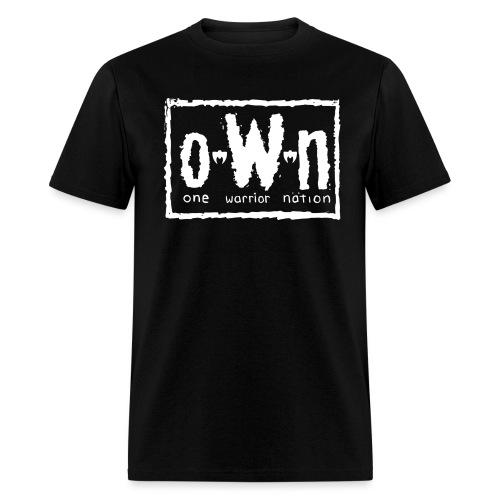 WarriorOWNLogo1 - Men's T-Shirt