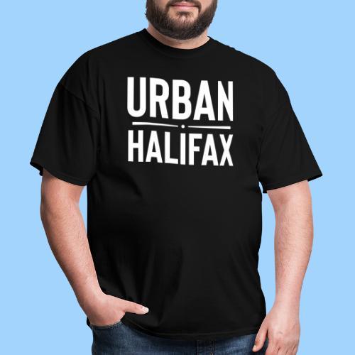 Urban Halifax logo (White) - Men's T-Shirt