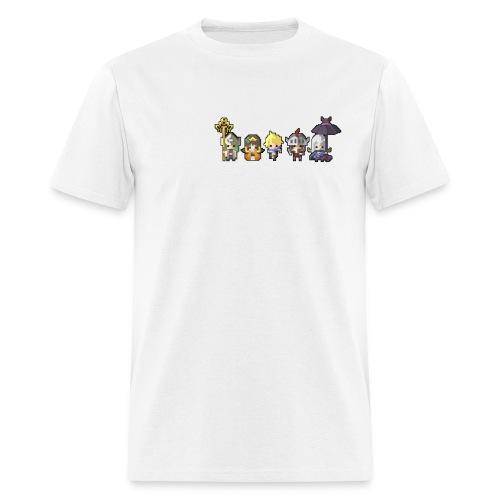 Half Minute Hero characters (White Logo) - Men's T-Shirt