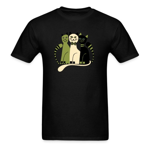 Cozy Cats by Anita Bijsterbosch - Men's T-Shirt