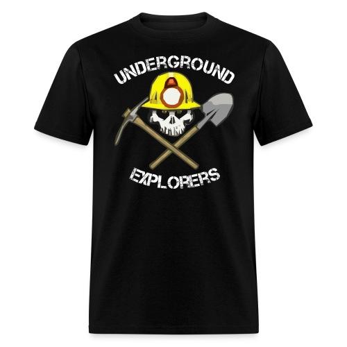 minerlogo1bblackfixed - Men's T-Shirt