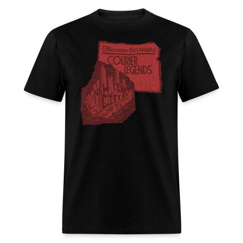 courierlegendscrumple2 - Men's T-Shirt
