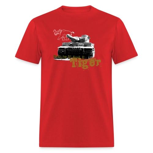 Tiger I Armor Journal t-shirt - Men's T-Shirt