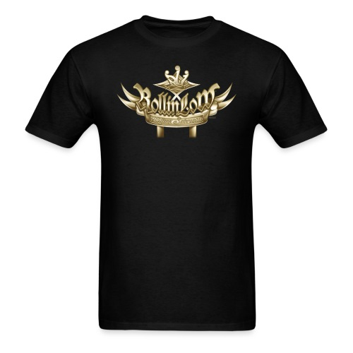 Rollin Low Plaque (2) by RollinLow - Men's T-Shirt