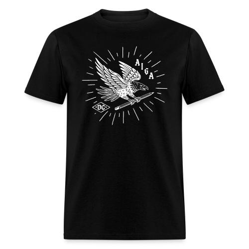 Fly Like an AIGA DC Eagle (white) - Men's T-Shirt