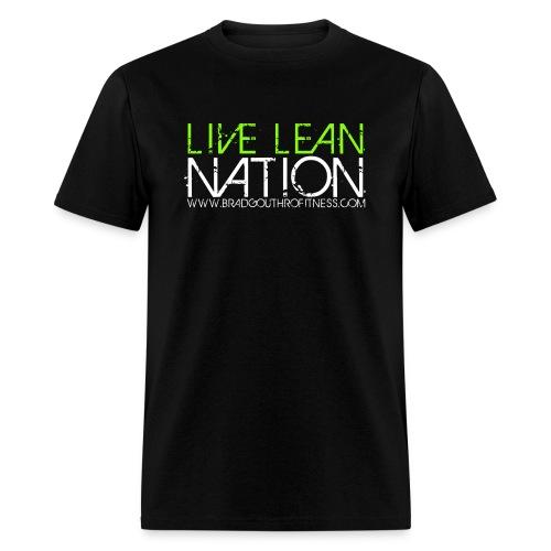 Live Lean Nation Long Sleeve - Men's T-Shirt
