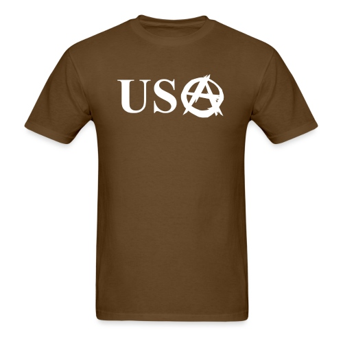usanarchy - Men's T-Shirt