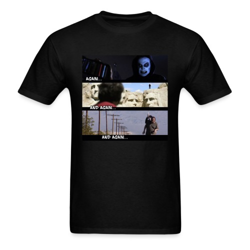 againandagainandagain - Men's T-Shirt