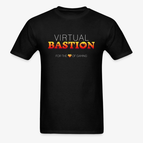 Virtual Bastion: For the Love of Gaming - Men's T-Shirt