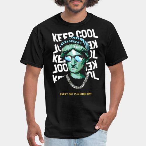 new york liberty statue - Men's T-Shirt