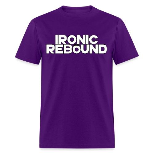 ironic rebound 4 png - Men's T-Shirt