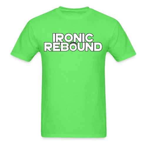 ironic rebound 4 png - Men's T-Shirt