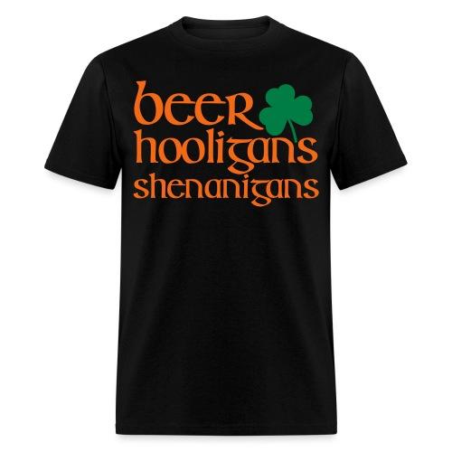 beer hooligans shenanigan - Men's T-Shirt