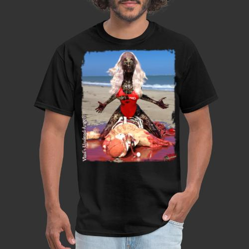 Undead Angels: Zombified Lifeguard Shay - Men's T-Shirt
