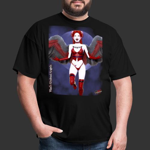 Undead Angels By Moonlight Vamp Cupid Scarlet 1 - Men's T-Shirt