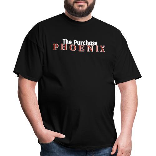 White Purchase Phoenix logo - Men's T-Shirt