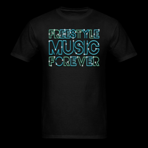 Freestyle Music Forever! - Men's T-Shirt