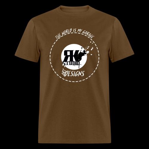 The World is My Garage - Men's T-Shirt