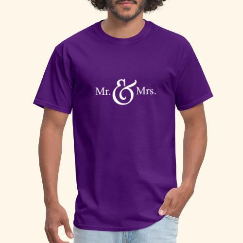 MR.& MRS . TEE SHIRT - Men's T-Shirt