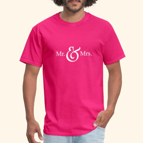 MR.& MRS . TEE SHIRT - Men's T-Shirt