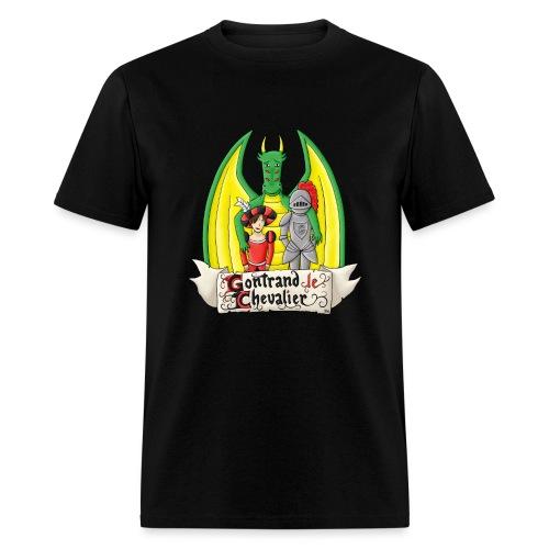La quête de Gontrand, Glorian et Hubert - T-shirt pour hommes